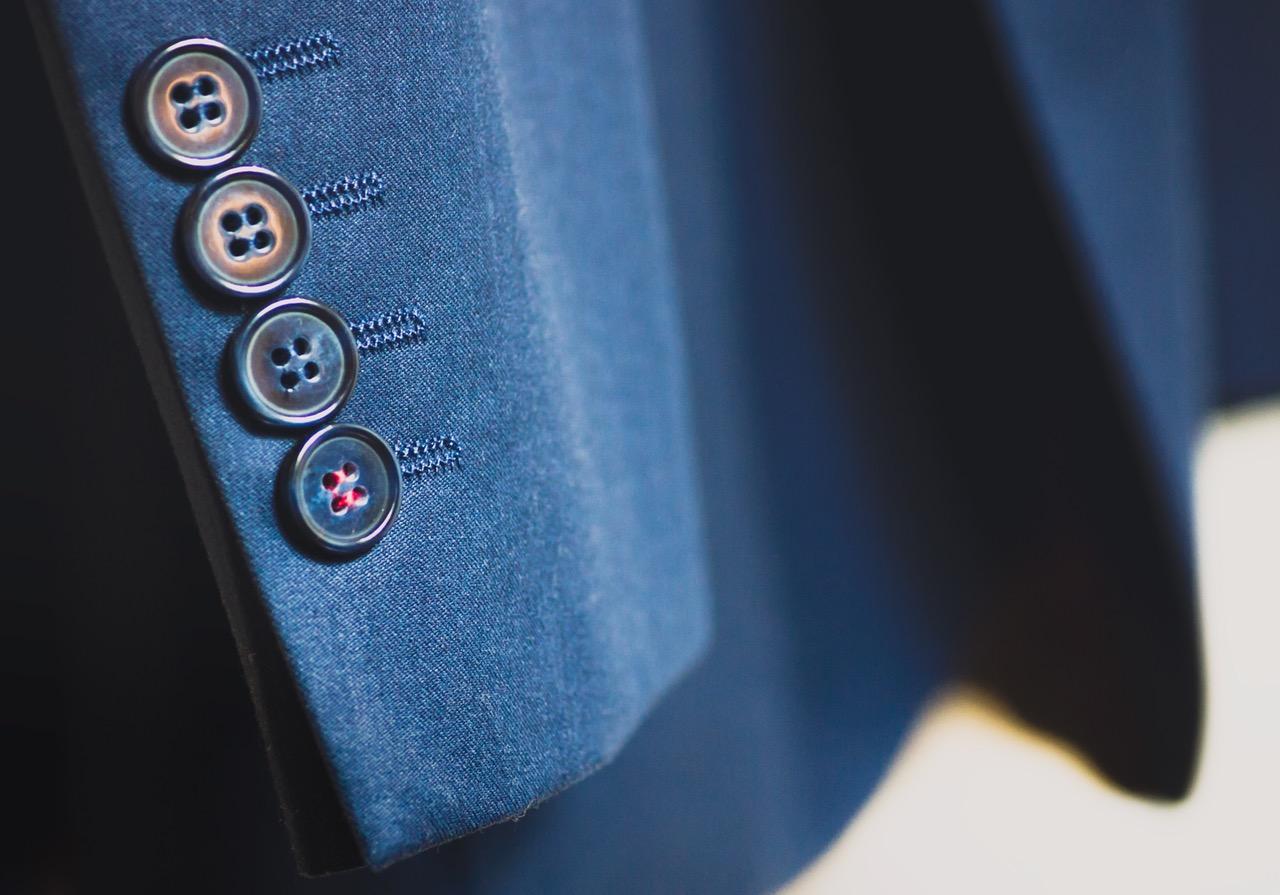 clothes-blue-button-suit-85873